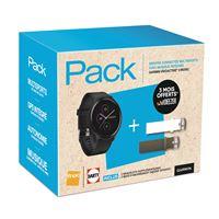 Pack Montre Connectée Multisports Garmin Vivoactive 3 Music + 2 Bracelets + 3 Mois d'Abonnement Deezer