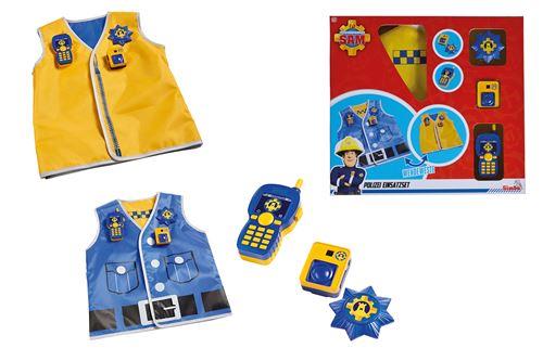 Kit de policier Simba Sam le pompier