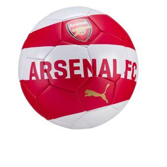 grande qualité vente chaude authentique authentique Ballon de football Puma Arsenal FC Fan Rouge et Blanc Taille 5