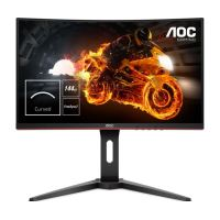 "AOC Gaming C27G1 - LED-monitor - gebogen - 27"" - 1920 x 1080 Full HD (1080p) - VA - 250 cd/m² - 3000:1 - 1 ms - 2xHDMI, VGA, DisplayPort"