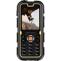 Téléphone mobile Getnord Walrus 2G Double SIM 64 Mo Noir