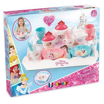 Plateau Tea Time Xl Smoby Disney Princesses 17 Accessoires