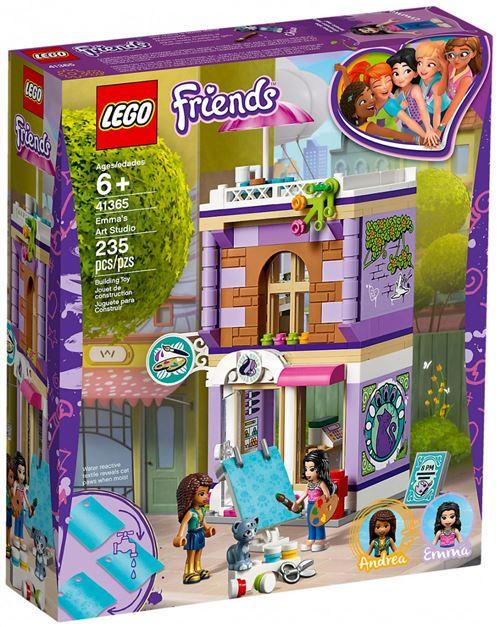 LEGO® Friends 41365 L'atelier d'artiste d'Emma