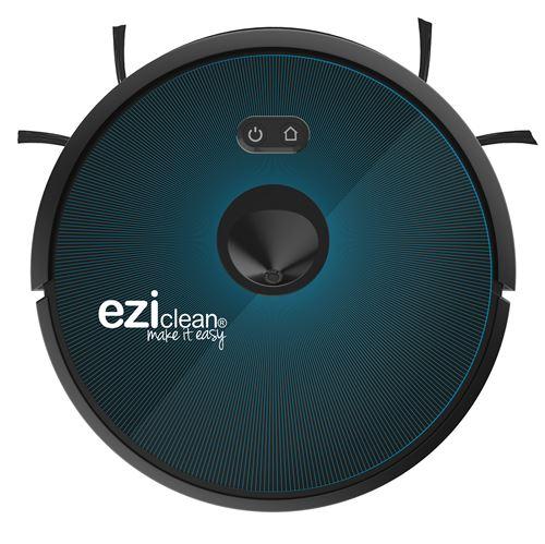 Aspirateur robot Eziclean Aqua Connect X650 Noir et Bleu