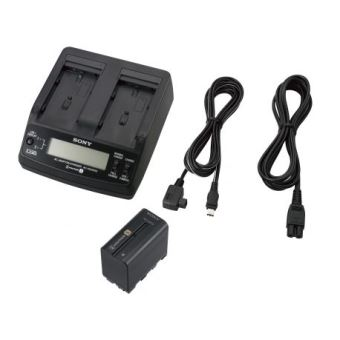 Kit Chargeur Adaptateur Secteur Et Batterie Sony Acc L1bp Noir Accessoire Camera Achat Prix Fnac