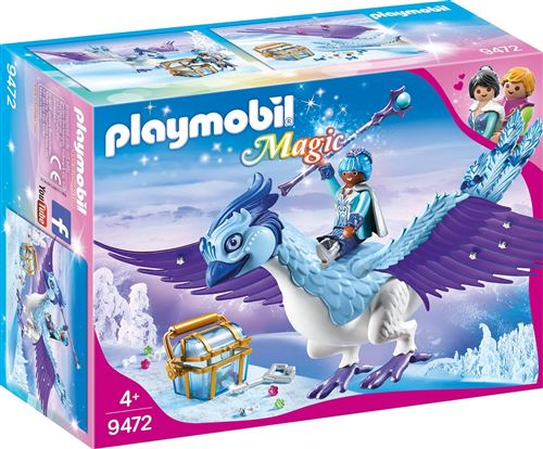 Playmobil Magic Le palais de Cristal 9472 Gardienne et Phénix royal