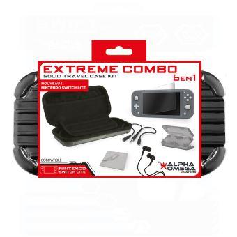 Pack accessoires Extreme 6,en,1 Rouge pour Nintendo Switch