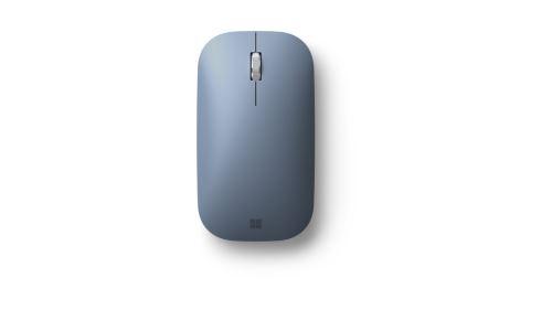 Souris sans fil Microsoft Modern Mobile Bleu pastel