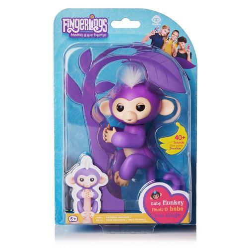 Fnac.com : Fingerlings WowWee Bébé singe interactif Violet - Autres figurines et répliques. Achat et vente de jouets, jeux de société, produits de puériculture. Découvrez les Univers Playmobil, Légo, FisherPrice, Vtech ainsi que les grandes marques de pué