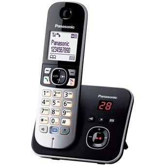 Téléphone Fixe sans fil Panasonic KX-TG6821 Noir