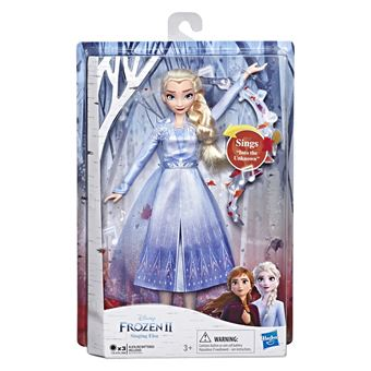 Reine 2 Poupée La Chantante Neiges Elsa Frozen des 5c4LqA3Rj