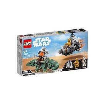 LEGO® Star Wars™ 75228 Capsule de sauvetage contre Microfighter Dewback™