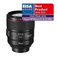 Canon EF 85 mm f/1.4L IS USM Lens Zwart