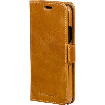 Dbramante Magnetic Wallet Case Lynge Tan iPhone 8