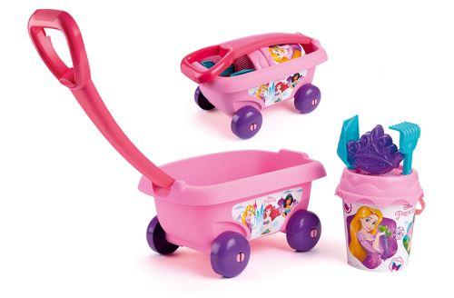 Chariot de plage garni Smoby Disney Princess