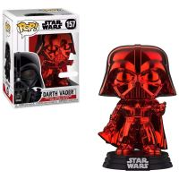 Figurine Funko Pop Star Wars Dark Vador Rouge