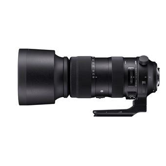Sigma 60-600m f/4.5-6.3 DG OS HSM Sport Telelens Zwart voor Nikon