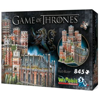 GAME OF THRONES-PUZZLE 3D-LE DONJON ROUGE-845 PCES