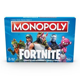 Jeu de société Monopoly Fortnite Version Française