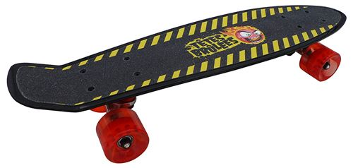 Skate Têtes Brulées 22,5'' Noir et Jaune