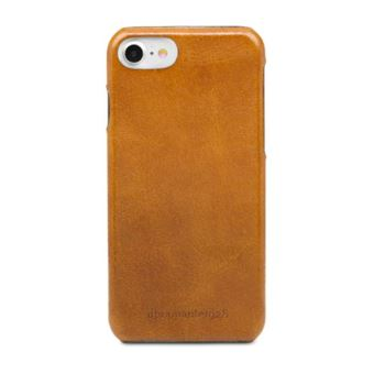 DBRAMANTE COVER TUNE IPHONE 7/7S LEATHER TAN