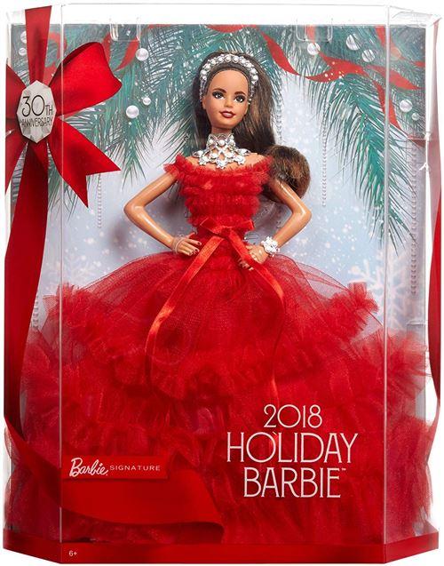 Fnac.com : Poupée Barbie 30eme anniversaire Noël Latina Brune - Poupée. Achat et vente de jouets, jeux de société, produits de puériculture. Découvrez les Univers Playmobil, Légo, FisherPrice, Vtech ainsi que les grandes marques de puériculture : Chicco,
