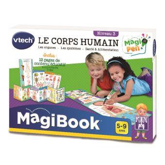 Livre Educatif Vtech Magibook Le Corps Humain