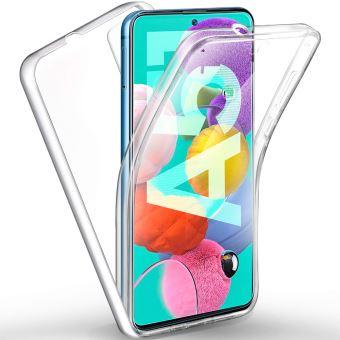 Coque 360 degrés Samsung Galaxy A51 Protection intégrale souple TPU Transparente face et dos Smartphone - Accessoires Pochette Exceptional Case Galaxy ...