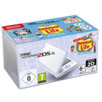 Console New Nintendo 2DS XL Blanc et Lavande avec TomoDacHi Life présinstallé
