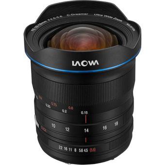 Laowa 10-18mm f/4.5-5.6 Zoomlens Zwart voor Sony FE