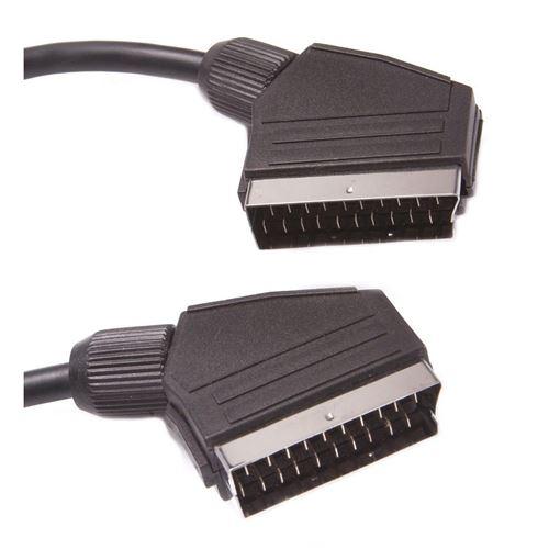 Câble SCART péritel On Earz Mobile Gear 1,5 m Noir