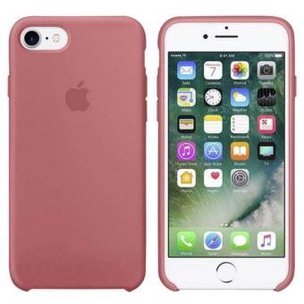 Coque en silicone Apple Camellia Rose pour iPhone 7 Plus
