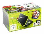 Console New Nintendo 2DS XL Noir et vert citron avec Mario Kart 7 présinstallé