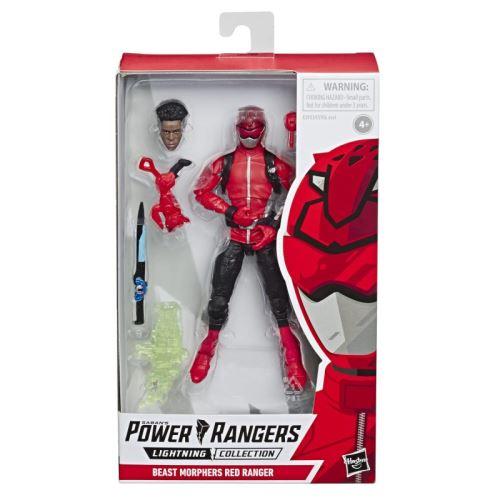 Figurine Power Rangers Beast Morphers Premium Hasbro 15 cm Rouge