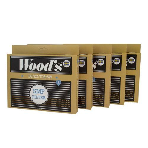 Lot de 5 Filtres recharge SMF Wood's pour les déshumidificateurs DS/ED/TDR