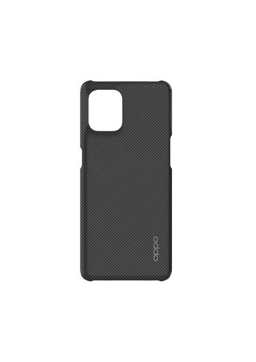 Coque silicone pour smartphone Oppo Find X3 Neo Noir