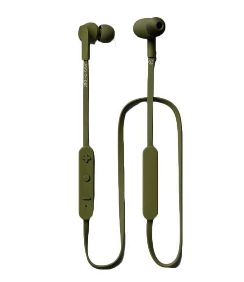 Ecouteurs intra-auriculaires Jays t-Four Bluetooth Vert
