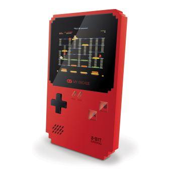 Console Portable Rétro My Arcade Pixel Classic Rouge avec 308 jeux