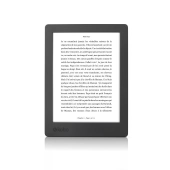 Liseuse numérique Kobo by Fnac - Kobo Aura H2O 2ème édition Noir Reconditionné