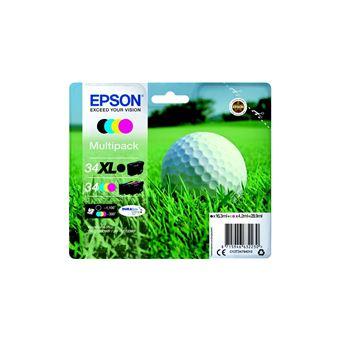 Epson 34XL - 4 - XL - zwart, geel, cyaan, magenta - origineel - inktcartridge
