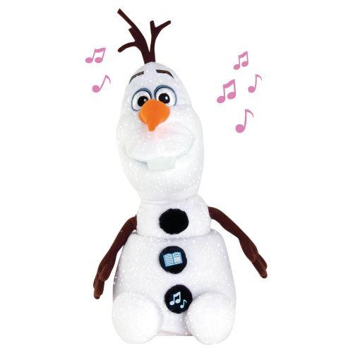 Peluche interactive Disney La Reine des Neiges Contes et chansons Olaf