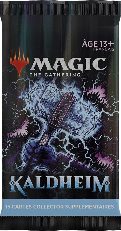 Jeu de cartes Magic Collector Booster Kaldheim