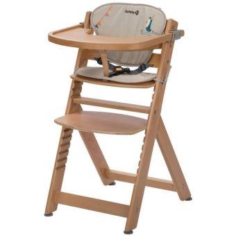chaise haute avec dossier chaise haute safety first timba en bois avec coussin happy