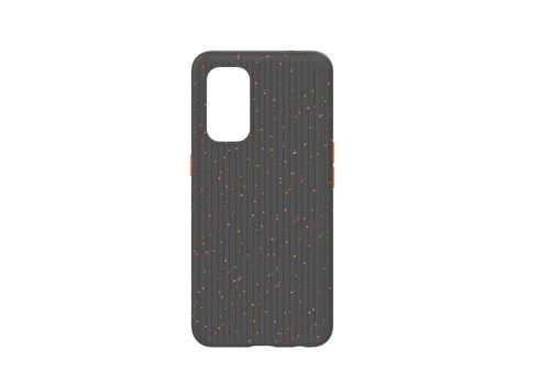 Coque TPE Kevlar pour smartphone Oppo Find X3 Lite Noir