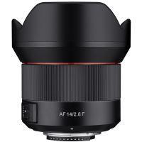 Samyang 14mm Vast Brandpuntafstand Lens f/2.8 AF Zwart voor Nikon F
