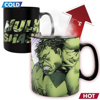 MARVEL-MUG HEAT CHANGE 460 ML-HULK SMASH