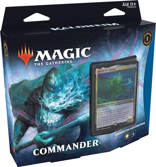 Jeu de cartes Magic Commander Deck 20 Modèle aléatoire