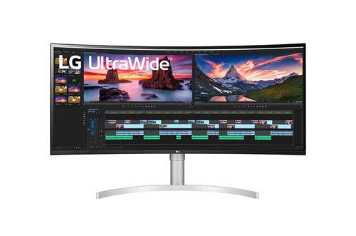 "Ecran PC LG 38WN95C-W 38"" UltraWide QHD+ Incurvé Noir et Blanc"