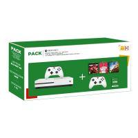 Pack Fnac Xbox One S + NBA 2K20 + Fifa 20 + Forza Horizon 4 + 2ème manette