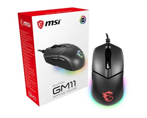 Souris Gaming Msi Clutch GM11 Noir